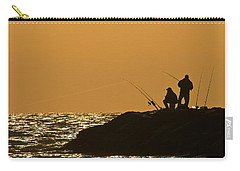 Sunset Fishermen Carry-all Pouch