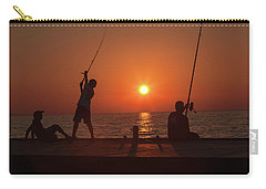 Sunset Fishermenr Carry-all Pouch