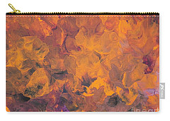 Sunset Flowers Carry-all Pouch