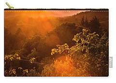 Sunset Fog Over The Pacific #2 Carry-all Pouch