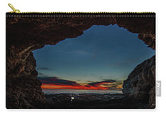 Sunset From Brady's Cave Carry-all Pouch
