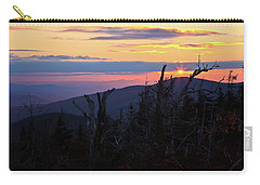 Sunset From Caps Ridge, Mount Jefferson Carry-all Pouch