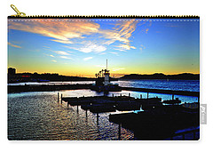 Carry-all Pouch featuring the photograph Sunset From Pier 39 - San Fransisco by Glenn McCarthy Art and Photography