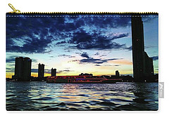 Sunset From The Boat On The Way To Carry-all Pouch