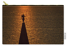 Carry-all Pouch featuring the photograph Sunset From The Walls #2 - Piran Slovenia by Stuart Litoff