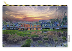 Sunset Harbor Dream Carry-all Pouch