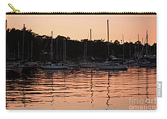 Sunset Harbor Carry-all Pouch by Suzanne Luft