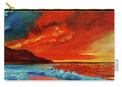 Sunset Hawaii Carry-all Pouch by Jenny Lee