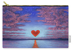 Sunset Heart 02 Carry-all Pouch