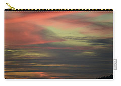 Sunset Home Carry-all Pouch by Ronda Broatch