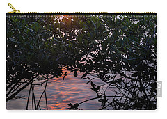 Carry-all Pouch featuring the photograph Sunset, Hutchinson Island, Florida  -29188-29191 by John Bald