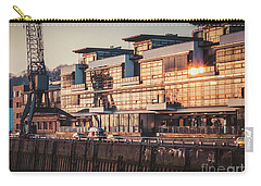 Sunset In Altona Hamburg Carry-all Pouch