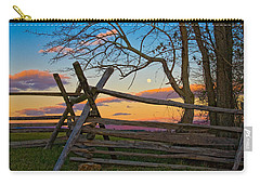 Sunset In Antietam Carry-all Pouch by Ronald Lutz