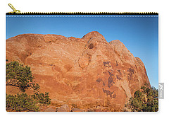 Sunset In Arches National Park Carry-all Pouch