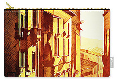 Sunset In Arezzo Carry-all Pouch