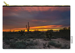 Sunset In Arizona Carry-all Pouch