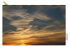 Carry-all Pouch featuring the photograph Sunset In Bar Harbor by Living Color Photography Lorraine Lynch