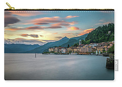Sunset In Bellagio On Lake Como Carry-all Pouch