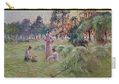 Sunset In Beynac-et-cazenac Carry-all Pouch