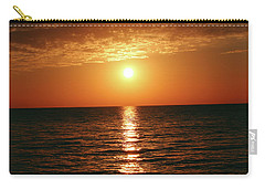 Sunset In Bimini Carry-all Pouch