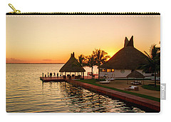 Sunset In Cancun Carry-all Pouch