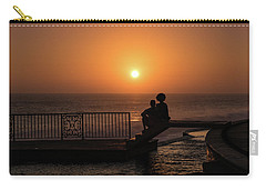 Sunset In Cerritos Carry-all Pouch