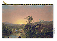 Sunset In Equador Carry-all Pouch
