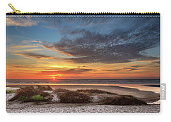 Carry-all Pouch featuring the photograph Sunset In Florence by James Eddy