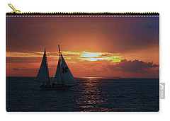 Sunset In Key West Carry-all Pouch
