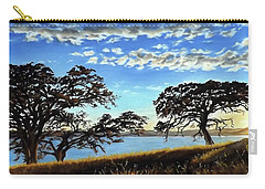Sunset In Lucerne Carry-all Pouch by Linda Becker