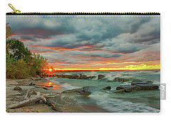Sunset In Rocky River, Ohio Carry-all Pouch