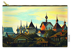 Sunset In Rostov Carry-all Pouch