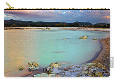 Sunset In Rotorua New Zealand Carry-all Pouch