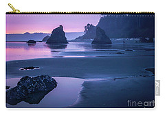 Sunset In Ruby Beach Carry-all Pouch