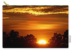 Sunset In Sonoma County Carry-all Pouch