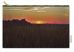 Sunset In The Badlands Carry-all Pouch