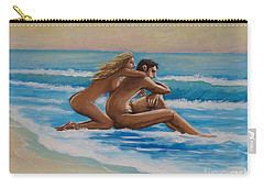 Sunset In The Beach Carry-all Pouch