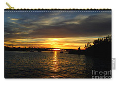 Sunset  In The Bermuda Triangle Carry-all Pouch