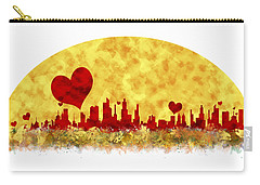 Sunset In The City Of Love Carry-all Pouch by Anton Kalinichev