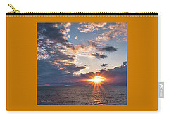Sunset In The Clouds Carry-all Pouch