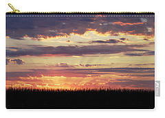 Sunset In The Corn Carry-all Pouch