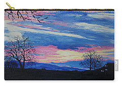 Sunset In The Country Carry-all Pouch