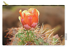 Sunset In The Deserts Carry-all Pouch