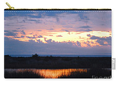 Sunset In The River Sea Beyond Carry-all Pouch by Expressionistart studio Priscilla Batzell