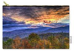 Sunset In The Smokies Carry-all Pouch