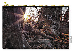 Sunset In The Woods Carry-all Pouch