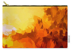 Sunset In Valhalla Carry-all Pouch by Paulo Guimaraes