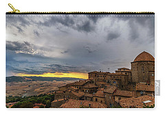 Sunset In Volterra Carry-all Pouch