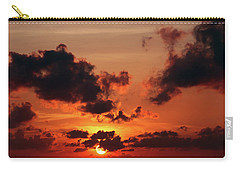 Carry-all Pouch featuring the photograph Sunset Inspiration by Jenny Rainbow
