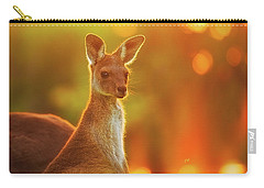 Carry-all Pouch featuring the photograph Sunset Joey, Yanchep National Park by Dave Catley